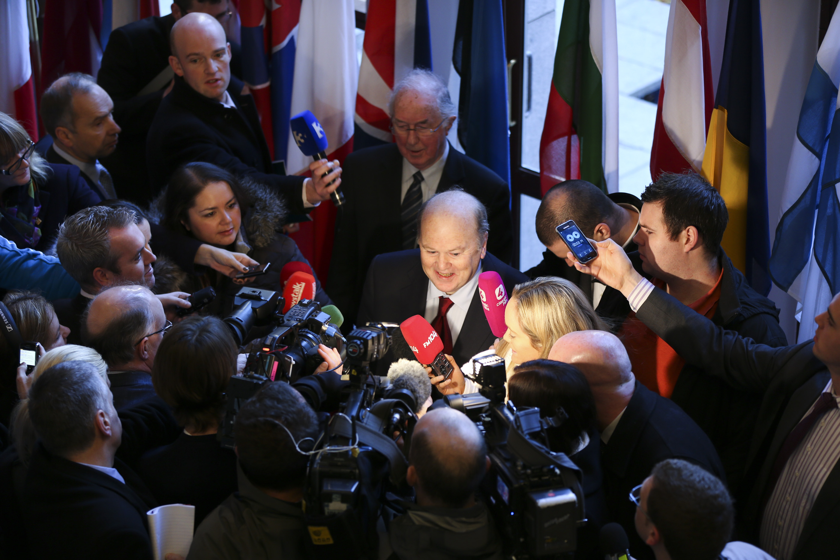 Irish Minister for Finance Michael Noonan T.D