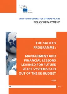 Cover website Galileo programme