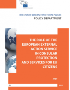 Cover website role of EEAS on consular protection
