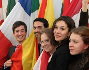 flags Master in Advanced European and international Studies 2014