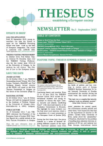 THESEUS_Newsletter_Sep2015