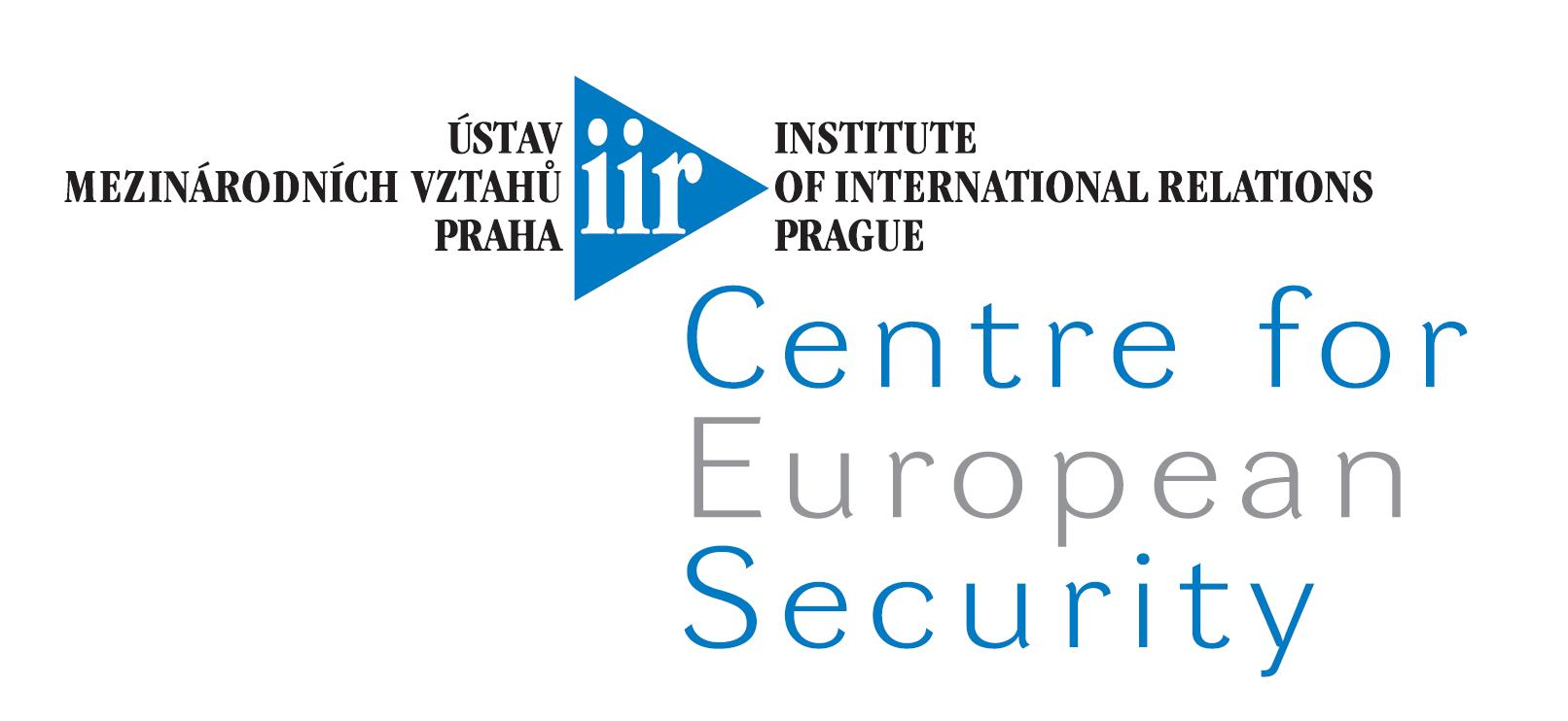 IIR Centre for European security logo