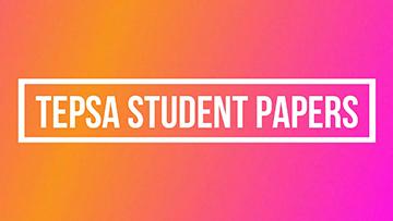 TEPSA Student Papers